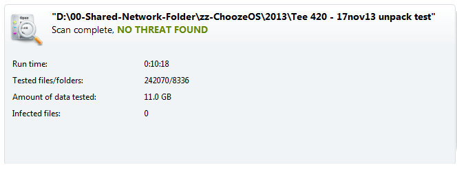 !ChoozeOS Avast Virus Scan